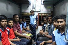 Trip To Hyderabad 2019 - In the Train